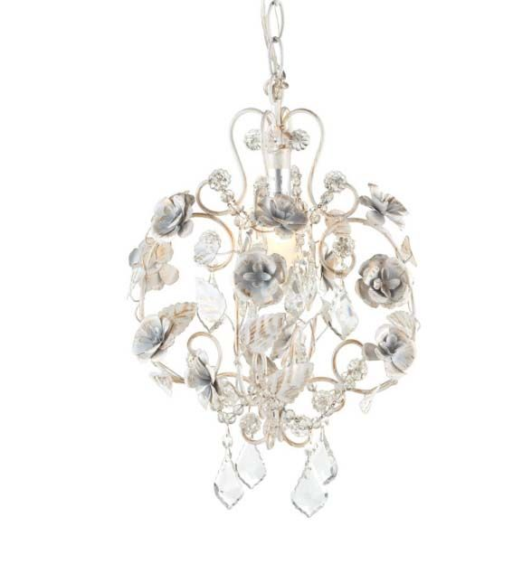 Romantic Rose Chandelier [CMW-82111] - $114.00 : The Painted Cottage, Vintage Painted Furniture