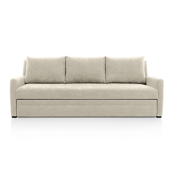 Reston Queen Sleeper Sofa In Sleeper Sofas Crate And Barrel