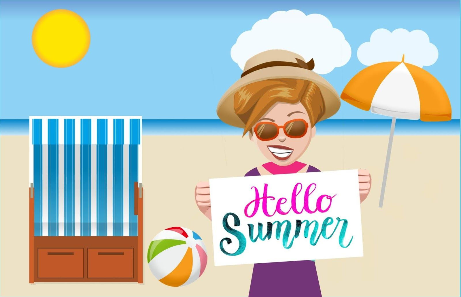 9224bf959f7b Download free illustrations of hello summer