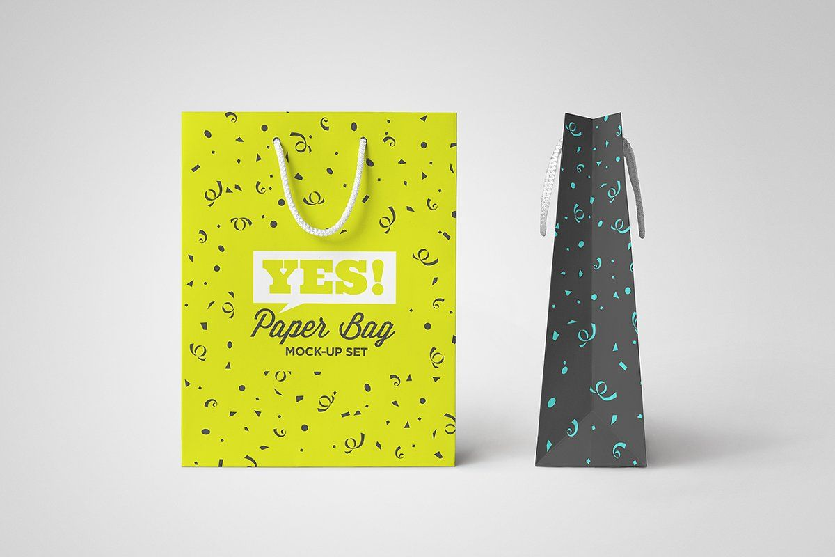 Download Paper Bag Mock Up Vol 1 Paper Mocking Bag Mockup