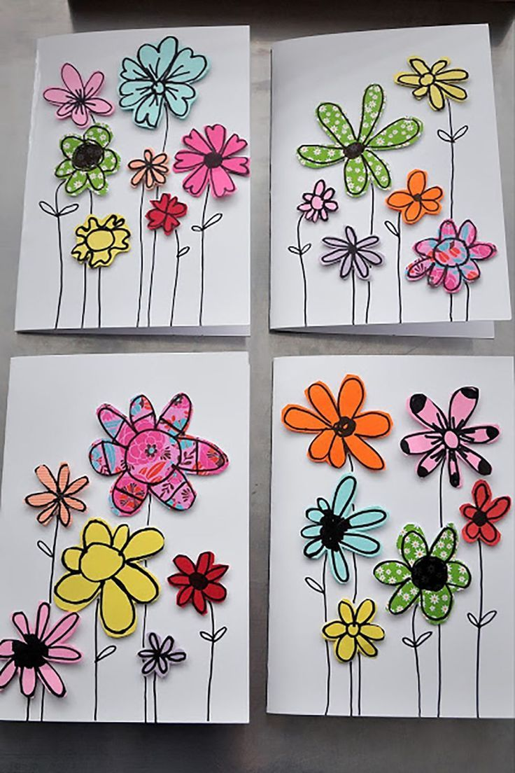44 Easy and Thoughtful Mother's Day Crafts the Kids Can DIY #craft