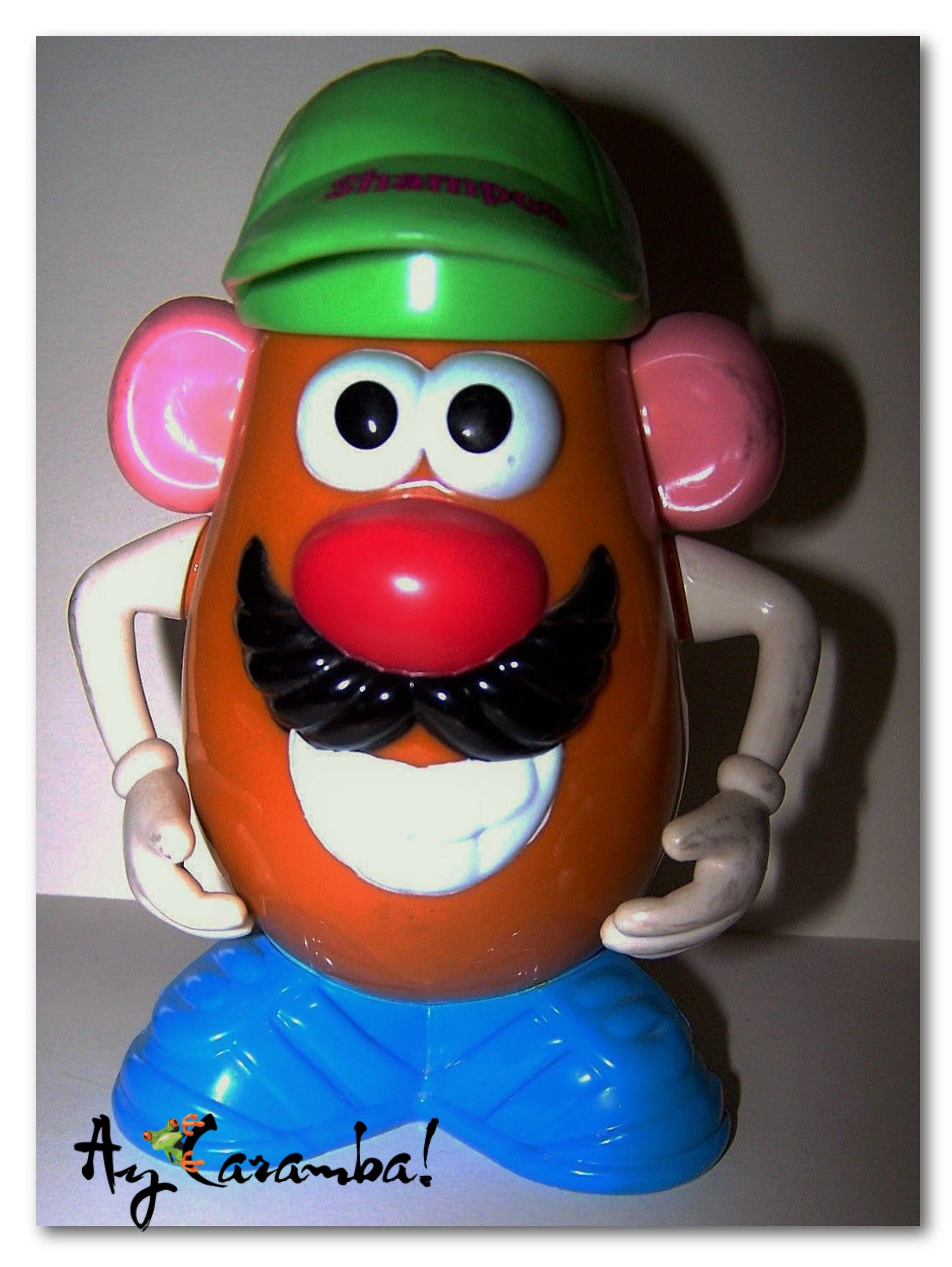 An awesome bath buddy for any fan of Toy Story! Oh, and its never been opened! Double the fun! https://www.etsy.com/listing/175522488/vintage-disneys-toy-story-mr-potato-head?ref=shop_home_active_4