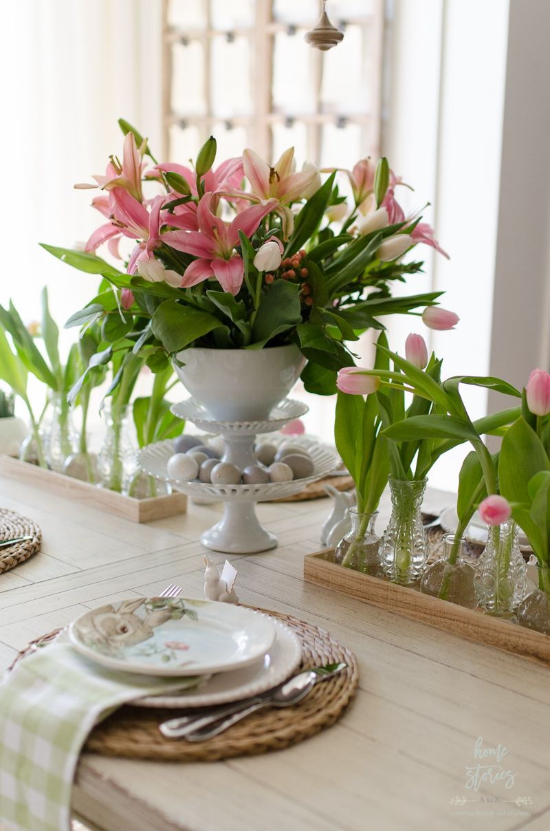 Spring Dining Room Decorating Ideas Easter Table In