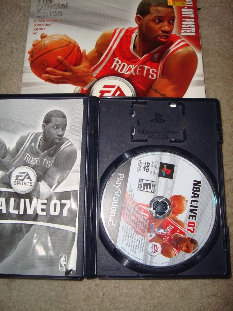 Nba Live 07 Strategy Guide And Ps2 Game Complete