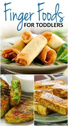 21 Healthy And Yummy Finger Foods For Toddlers images