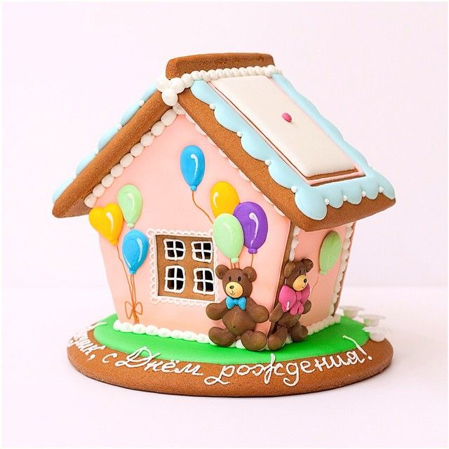 Small Gingerbread House And Teddy Bear This Is So Adorable Christmas Gingerbread House Gingerbread House Template Gingerbread House