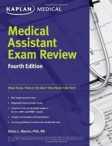 Medical Assistant Exam Review Fourth Edition Kaplan Medical