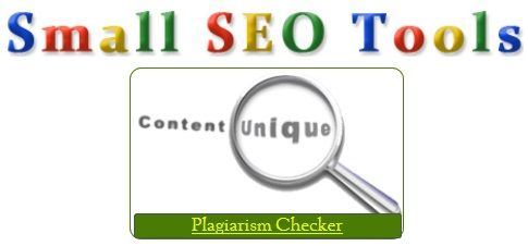 Free Plagiarism Checker at Small SEO Tools - News - Bubblews ...
