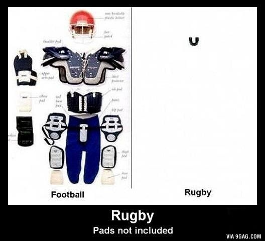 Rugby Vs American Football Protection Rugby Vs American Football Rugby Rugby Vs Football