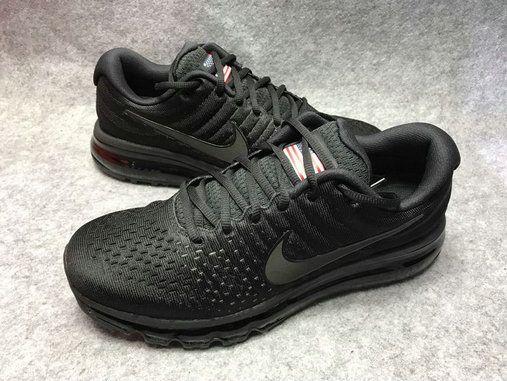 042e0aa8 High Quality Legit Nike Air Max 2017 855615-995 Mens Running Shoes Black  Grey
