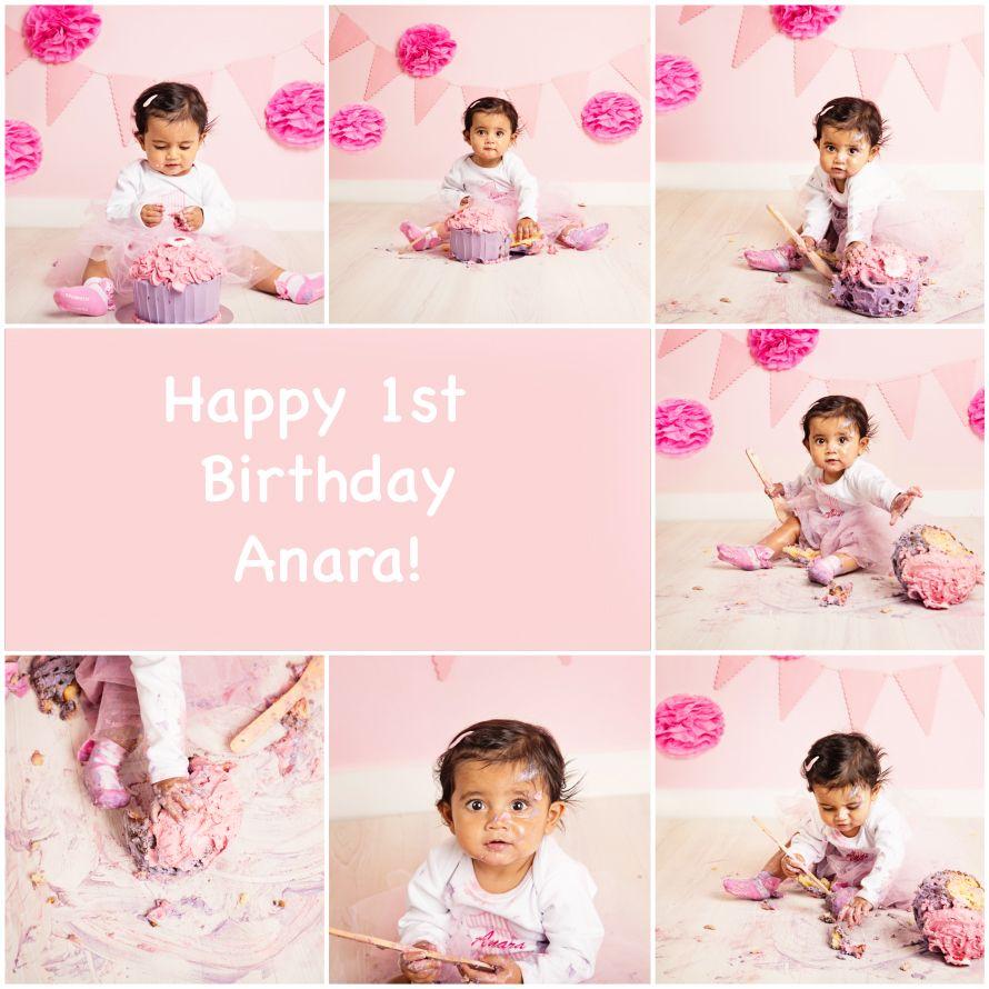 Happy 1st Birthday Anara!   veroj.com  #cakesmashphotographylondon #pregnancyphotographylondon #maternityphotographylondon #bump #verojphotography #london #mumstobe #parents #dads #baby #newborn #photography #2015 #children #kids #childrenphotography