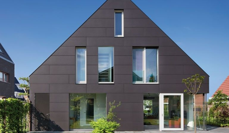 Contemporary house in Utrecht NL EQUITONE facade panels equitone