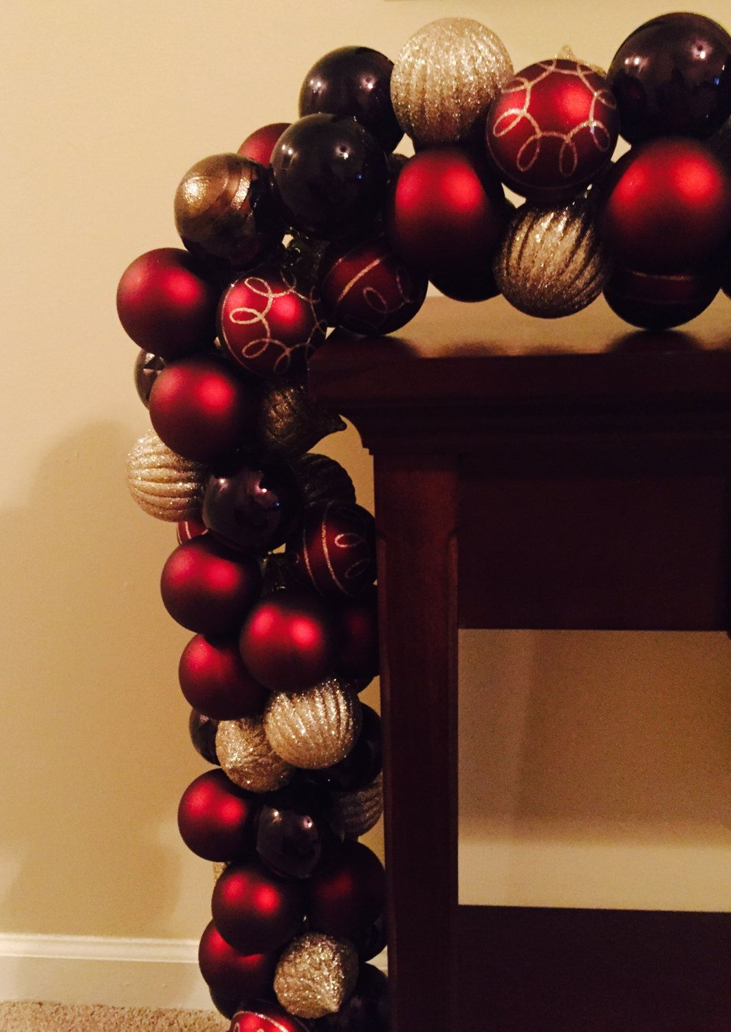 Ornament Garland by 5thRowSouth on Etsy
