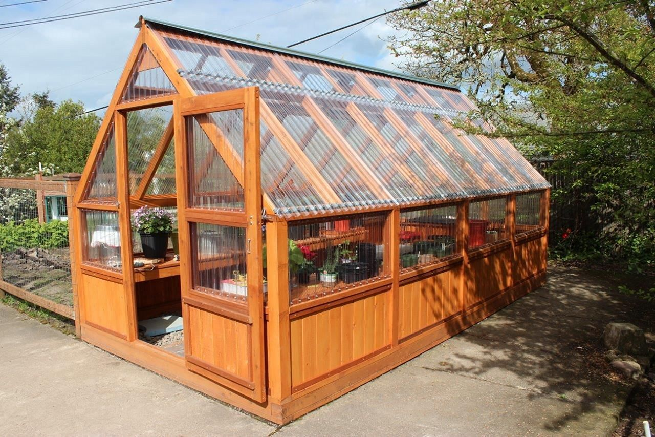 Nice 30 Best And Gorgeous Wooden Greenhouse For Home 400 x 300