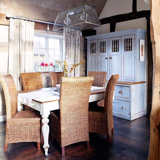 Esszimmer Wohnideen Möbel Dekoration Decoration Living Idea Interiors Home  Dining Room   Land Esszimmer Mit Rattan Möbeln