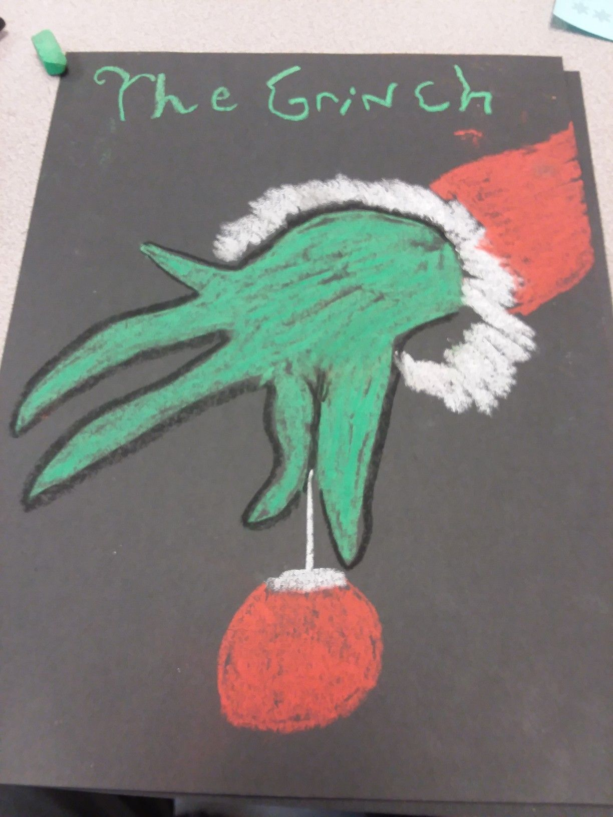 Grinch Easy Chalk Drawings Chalk Art Quotes Chalk Drawings