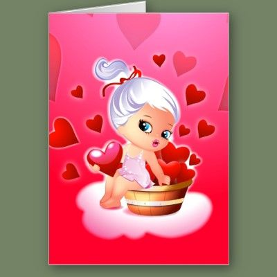 A Basket Full Of Valentines Greeting Card Starting at $2.45