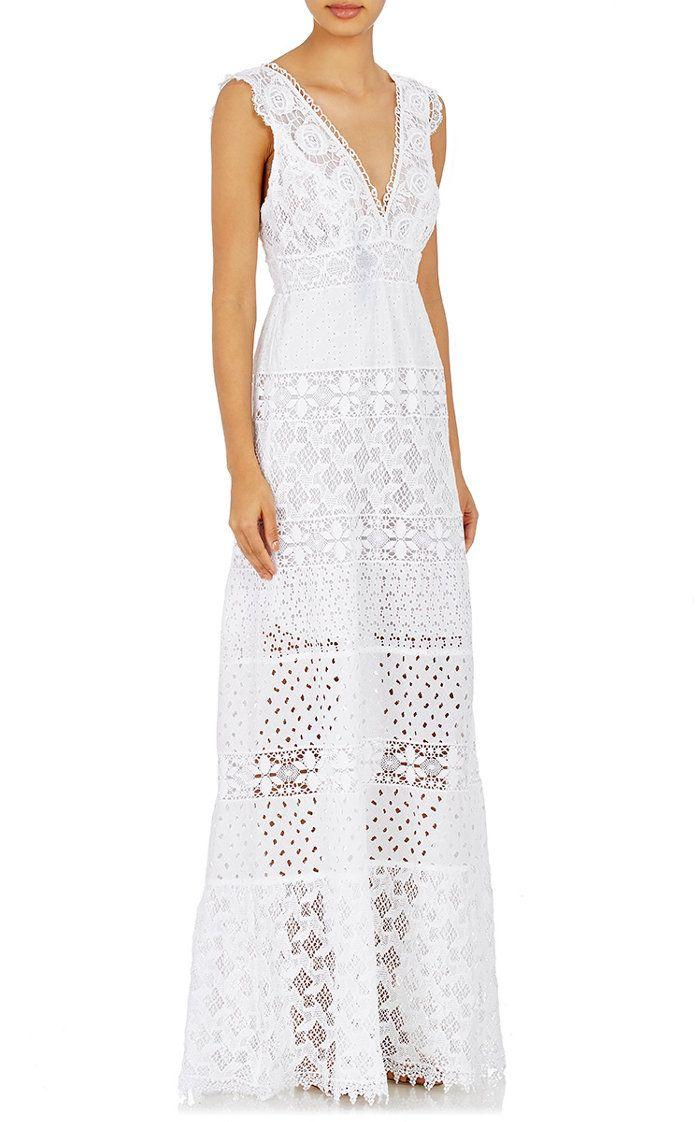 25 Beachy Wedding Dresses for Your Seaside \'I Dos\' | Pinterest ...
