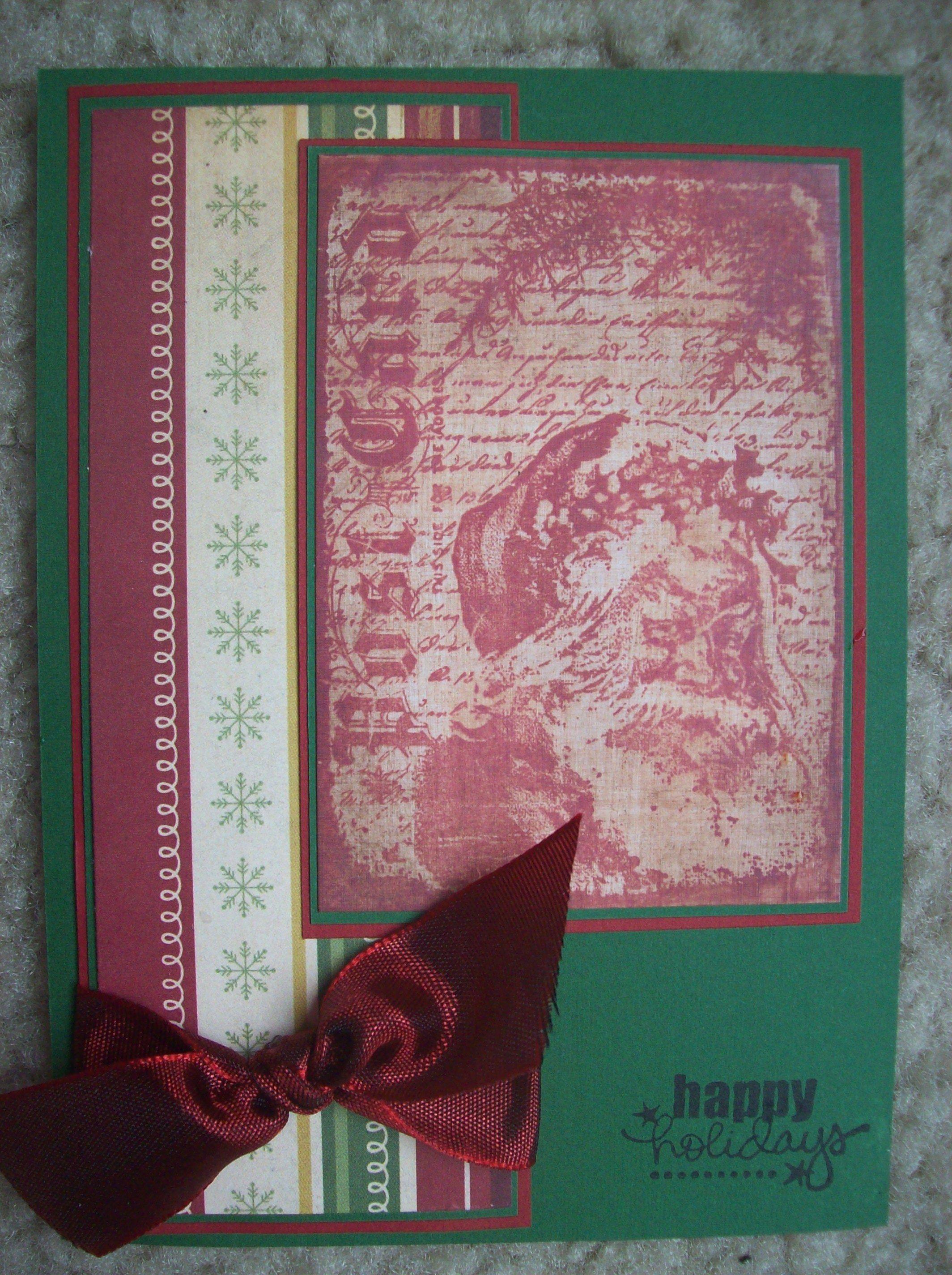 Happy Holidays - Scrapbook.com