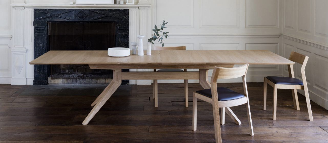 Pleasant Cross Extending Table Lounge Living Dining Table Download Free Architecture Designs Terchretrmadebymaigaardcom