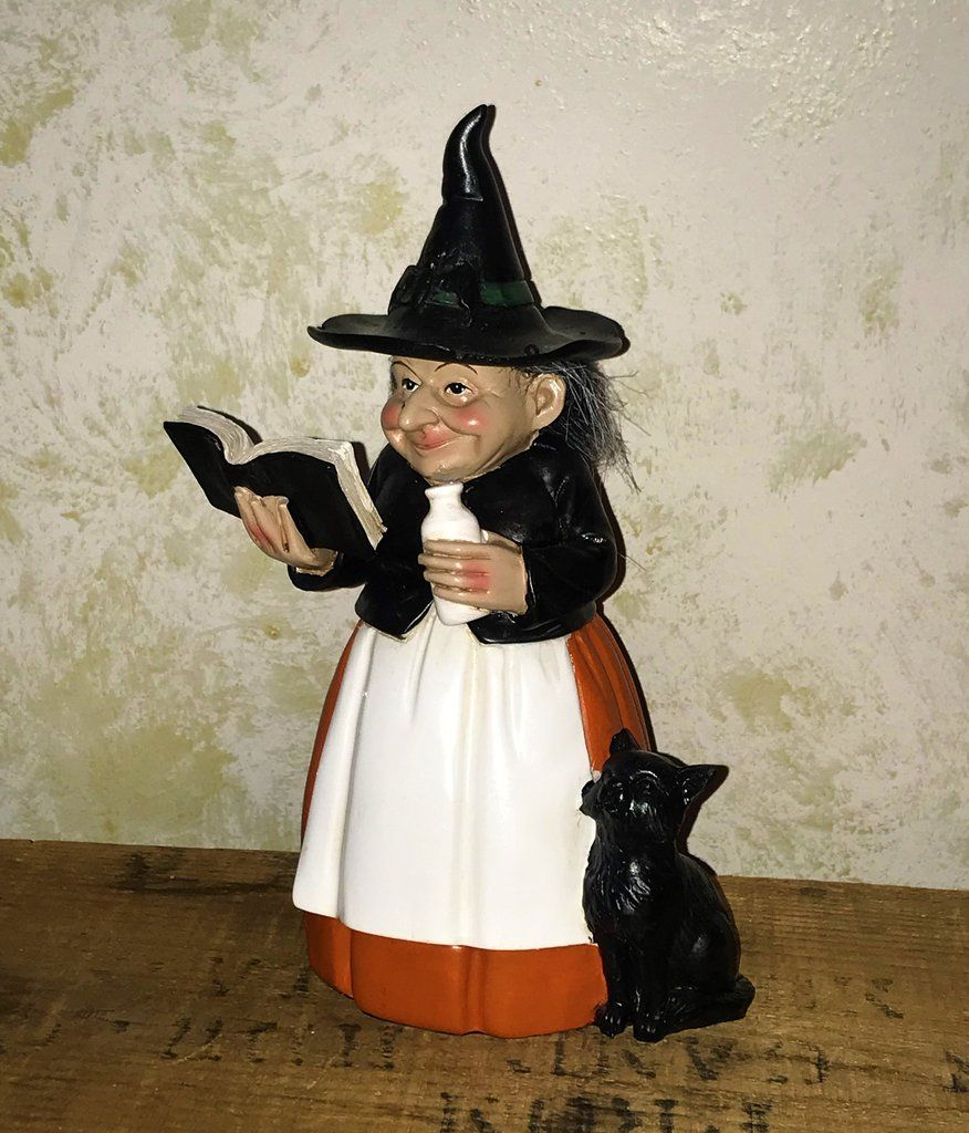 Little Haggy Witch Casting a Spell Figure in 2020 Classy