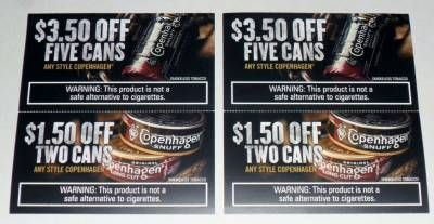 Copenhagen Snuff Smokeless Tobacco Coupons Lot 12 In Savings Only 3 99 Image On Imged Copenhagen Snuff Grizzly Tobacco Copenhagen Dip
