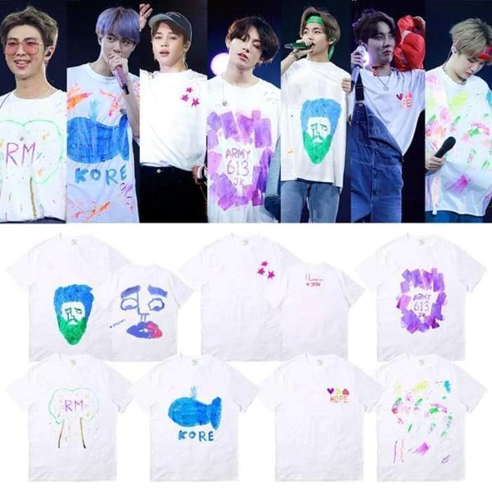 Bts 5th Muster Magic Shop Concert T Shirt 7 Types Ropa Kpop Ropa Bts Camisas Pintadas