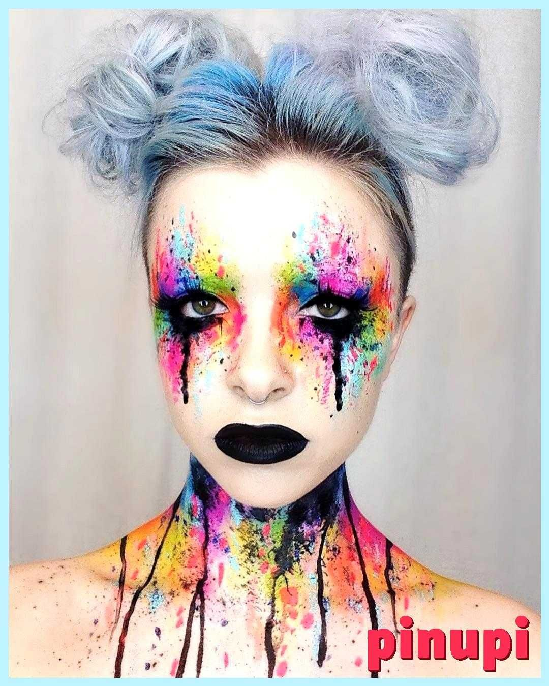 27 Terrifyingly Fun Halloween Makeup Ideas You Ll Love 27 Terrifyingly Fun Halloween Makeup Ideas You Ll Love Not Feeling Inspired No Need To Fret We Ve Got The Scary Part Covered With 27 Terrifyingly Fun Halloween Makeup Ideas That Require Just Your Cosmetic Stash And A Little Patience You Don T Have To Be A