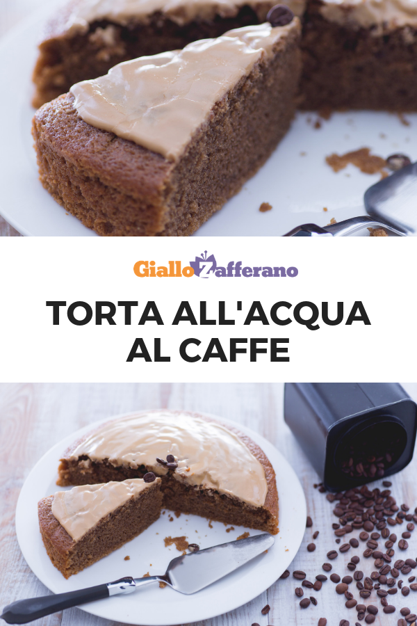Torta All Acqua.Torta All Acqua Al Caffe