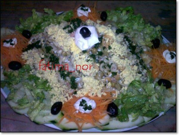 سلطة بالمعجنآت وآلخضر مشكلة Les Delices De Fatima Nor Food Rice Grains