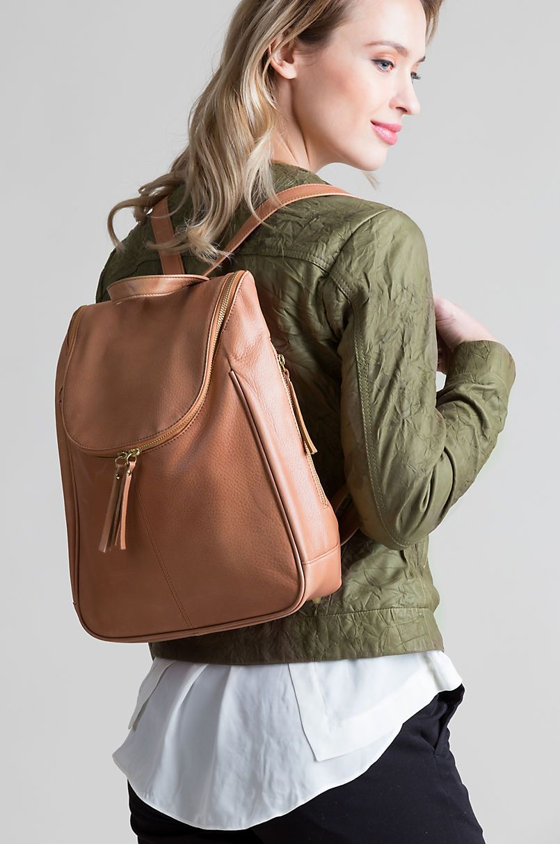 colours and striking great deals on fashion catch Florence Argentine Leather Backpack Purse | Leather Bags in ...