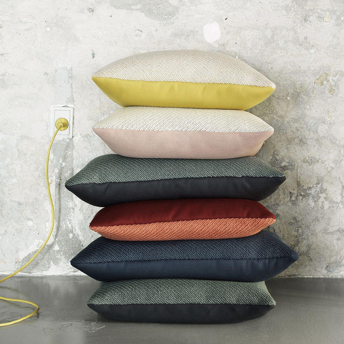 Wohndesign Skandinavien: Muuto - Mingle Kissen, 50 X 50 Cm, Gelb