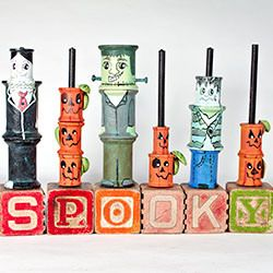 Halloween spools
