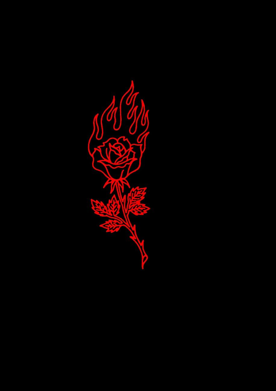 I See Roses Set On Fire Black Aesthetic Wallpaper Red Aesthetic Aesthetic Iphone Wallpaper