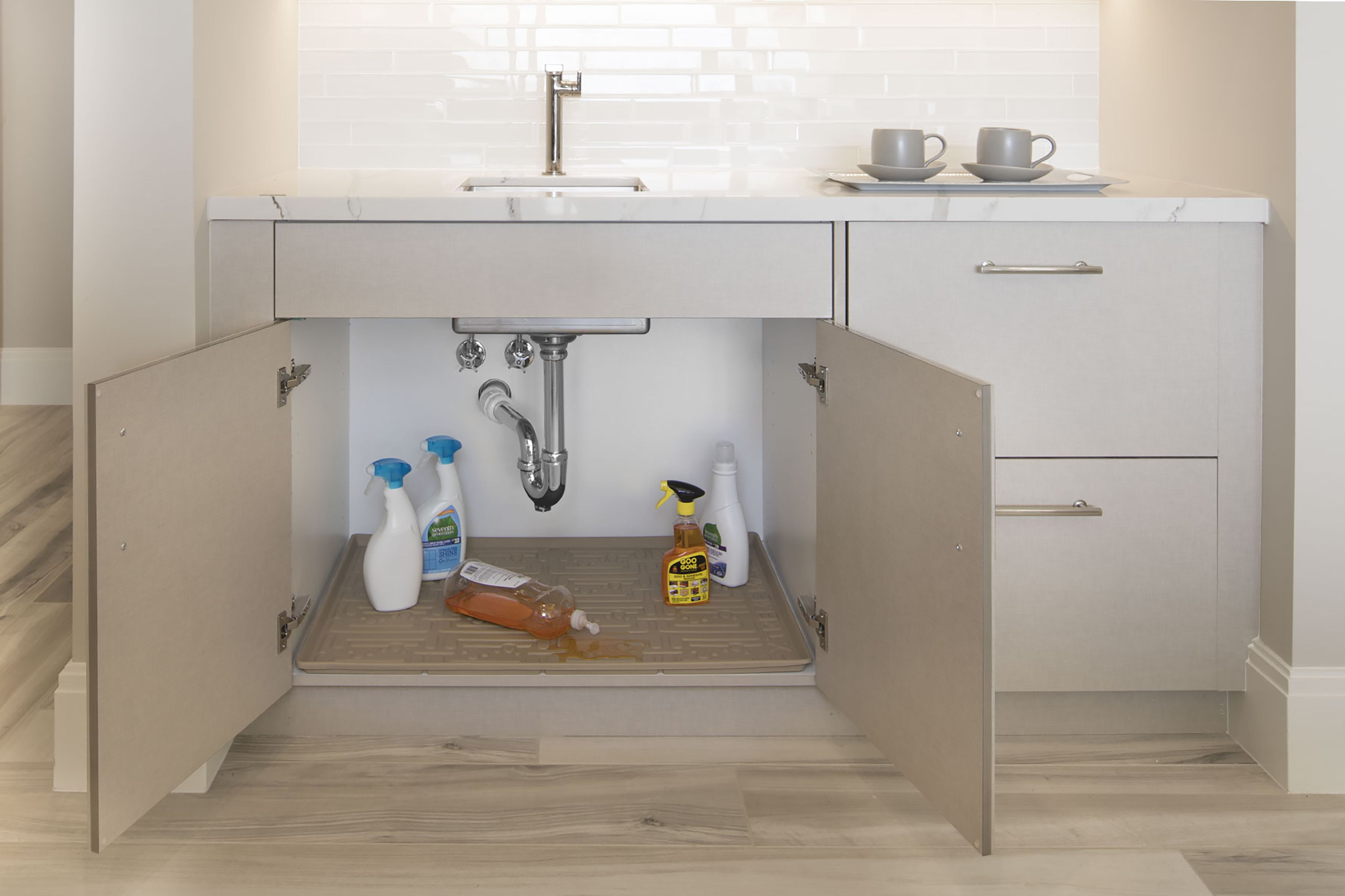 Cabinet Protection From Leaks And Spills Fitted Cabinets Sink Cabinet Sink
