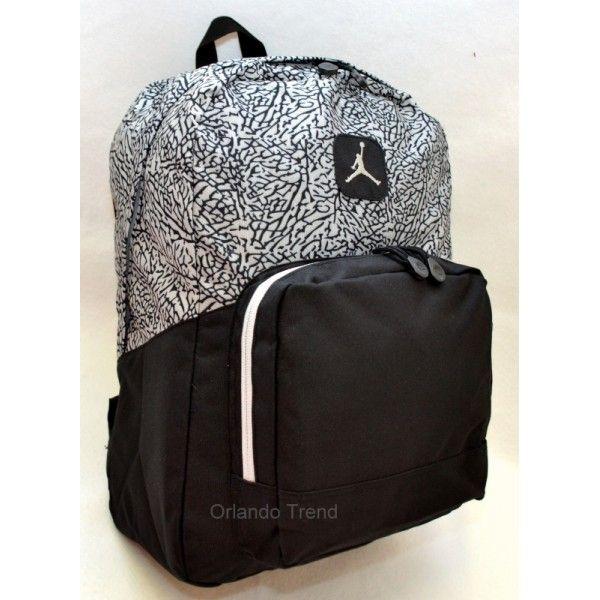 2b61b2bd8694 New Nike Jordan Got Next Backpack Unisex Black Book Bag