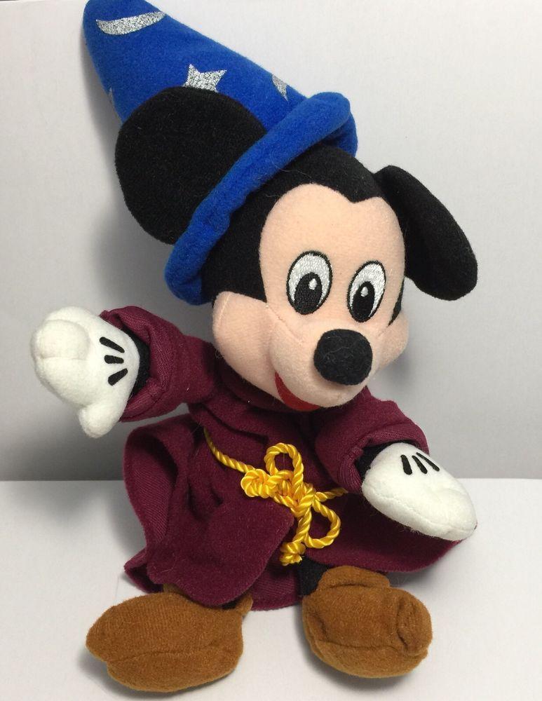 8aa40ff22bf Disney Fantasia Sorcerer Mickey Plush 9