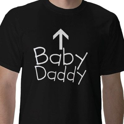 Funny Baby Daddy Arrow Expecting Dad T Shirt Zazzle Com Baby