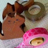 Brown Cat Tape Dispenser