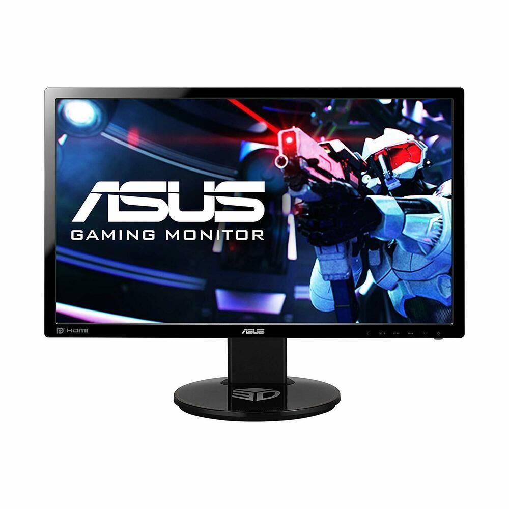 Asus Vg248qe 24 Full Hd 1920x1080 144hz 1ms Hdmi Gaming Monitor 37 Bids Asus Monitor Hdmi