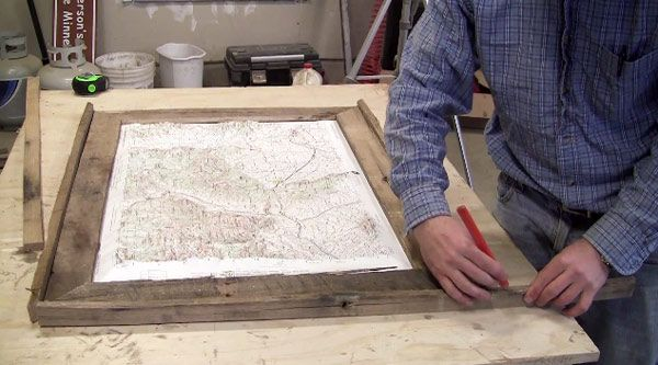 Learn how to Make a Frame Out of a Pallet with DIY PETE! He will ...