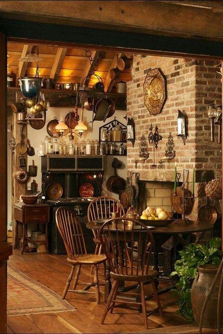20 Stunning Witch Decor For Inspired Many Magicians To Decorate His Personal Space Decoratingideas Decorating Country House Decor Rustic Kitchen Witch Decor
