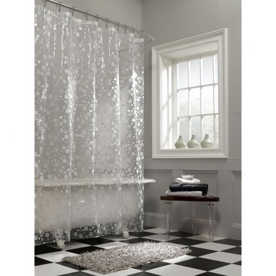 Cheap And Clear Shower Curtain Vinyl Shower Curtains Brown