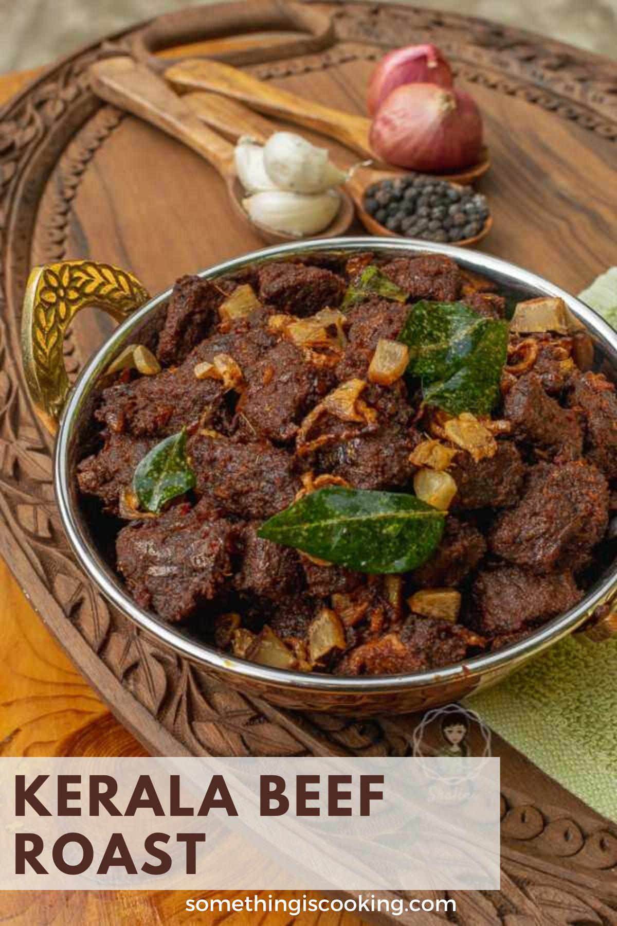 Kottayam Style Beef Ularthiyathu Beef Roast Atozchallenge Recipe In 2020 Beef Roast Beef Recipes Indian Food Recipes