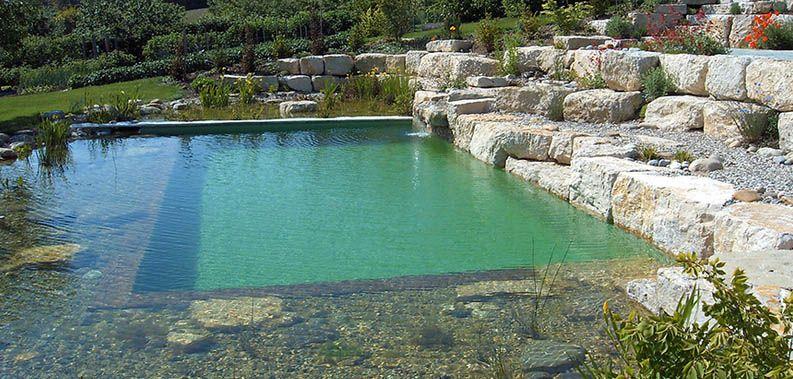 Piscinas naturais pesquisa google piscinas pinterest for Plastico para piscinas naturales