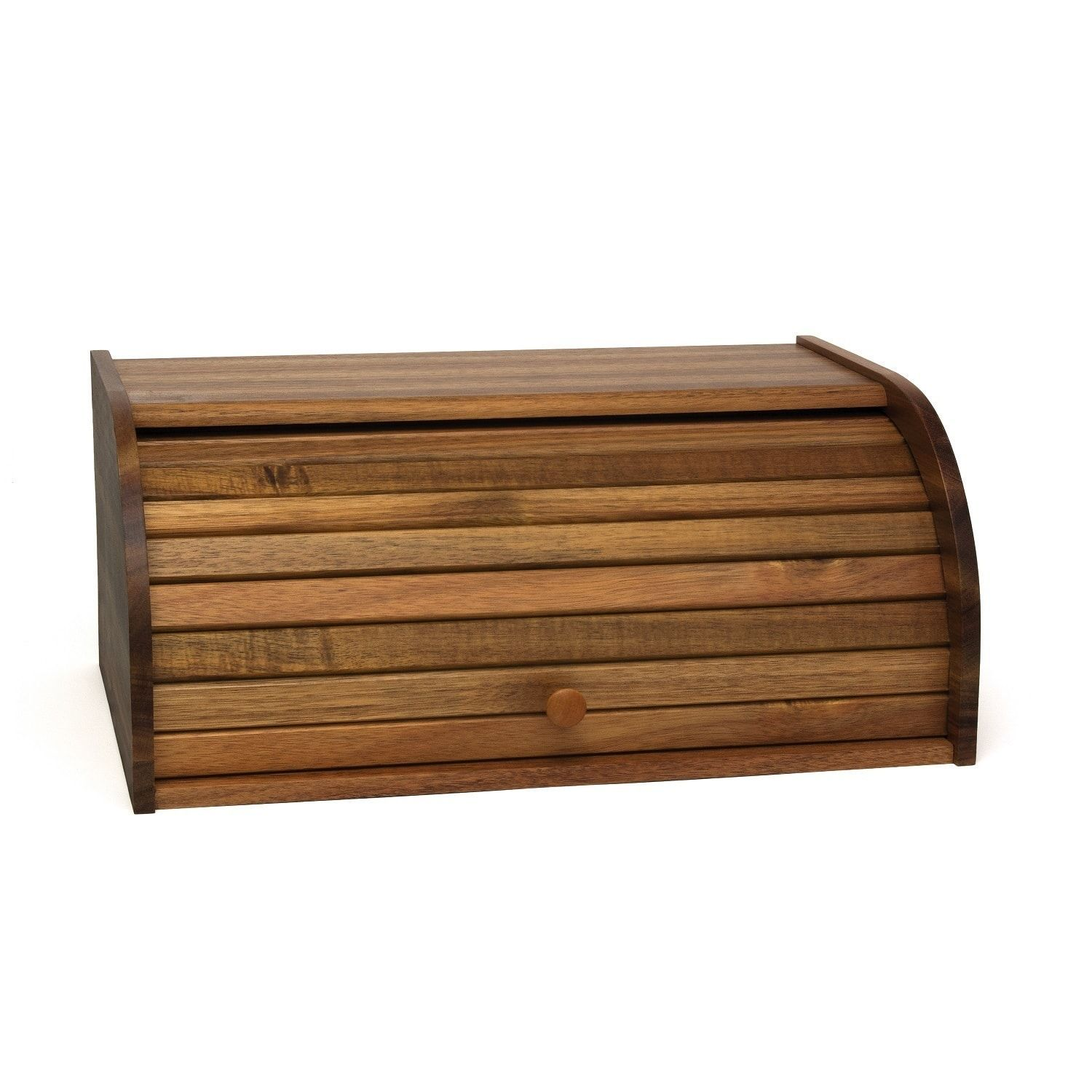 Bread Box Target Lipper Acacia Rolltop Bread Box  Bread Boxes Acacia And Free Shipping