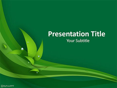 Herbal powerpoint template bb pinterest free ppt template herbal powerpoint template toneelgroepblik Images