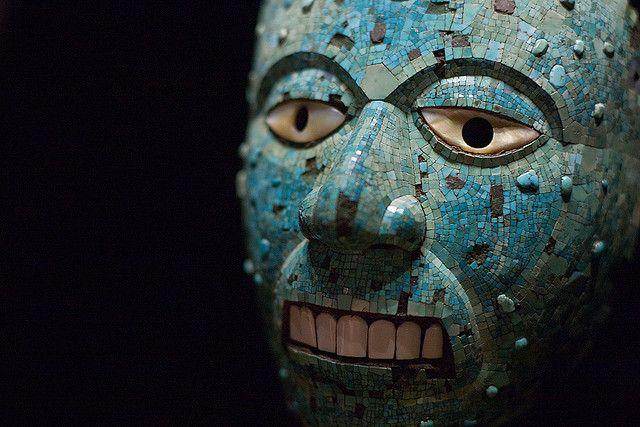 Aztec Mask at The British Museum