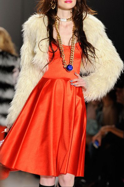 Betsey Johnson at New York Fall 2014.