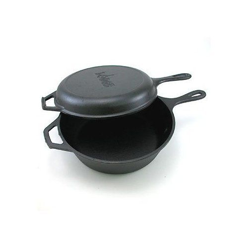Pre Seasoned Dutch Combo Cooker From Lodge Season Cast Iron Skillet Country Bread